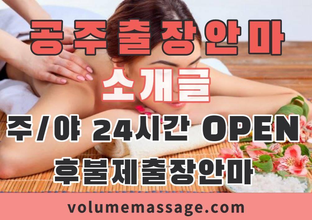 공주출장안마 소개글
