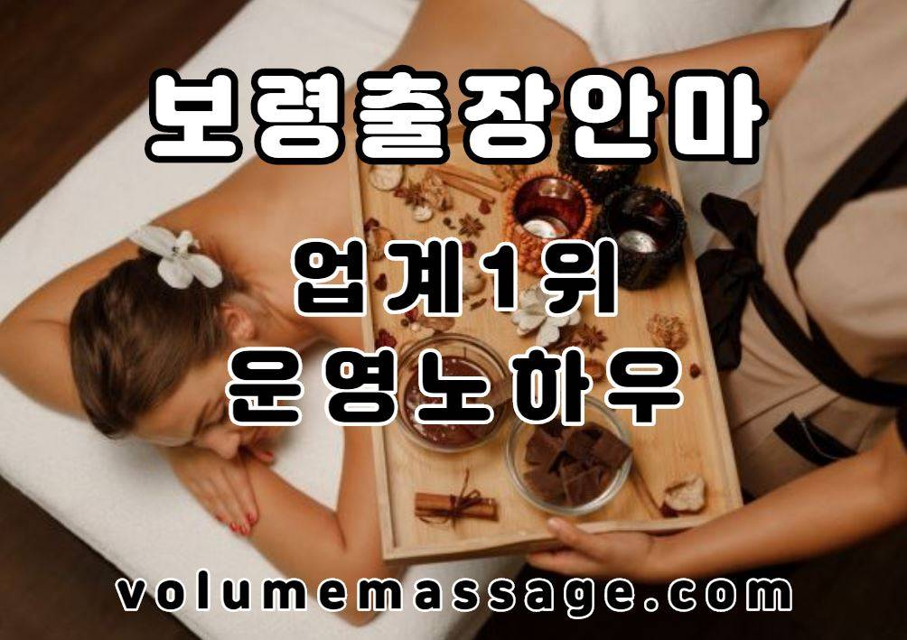 보령출장안마 업계1위